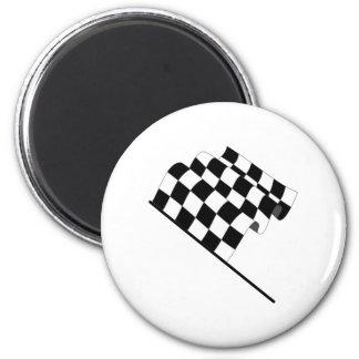 Checkered Flag Fridge Magnets