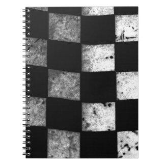 Checkered Flag Spiral Notebooks