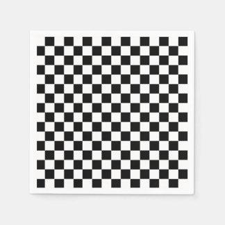 Checkered Flag Paper Napkins