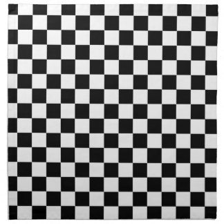Checkered Flag Printed Napkins