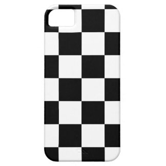 Checkered Flag Racing Chess Checkers Chessboard iPhone 5 Cover