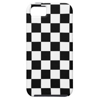 Checkered Flag Racing Design Chess Checkers Board iPhone 5 Case