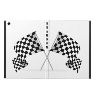 Checkered Flag Racing Design iPad Air Case