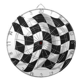 Checkered Flag - Racing Flag Dart Board