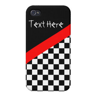 Checkered Flag Racing iPhone Case iPhone 4/4S Case