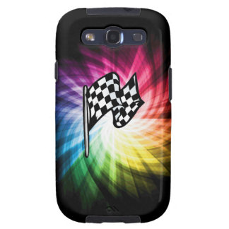 Checkered Flag Spectrum Galaxy SIII Case
