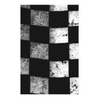 Checkered Flag Custom Stationery