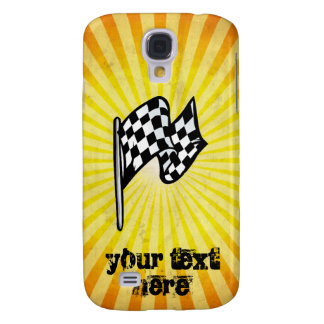 Checkered Flag yellow HTC Vivid Covers