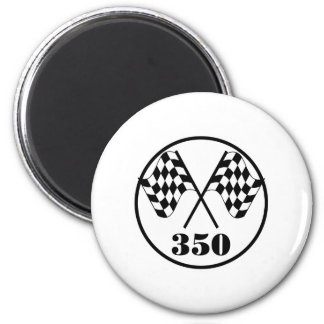 Checkered Flags Magnet