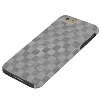 Checkered Grunge Tough iPhone 6 Plus Case