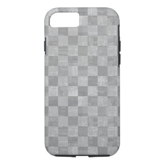 Checkered Grunge Tough iPhone 7 Case