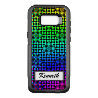 Checkered Illusion by Kenneth Yoncich OtterBox Commuter Samsung Galaxy S8+ Case