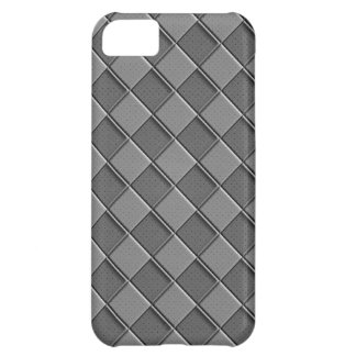 Checkered Leather iPhone 5C Covers