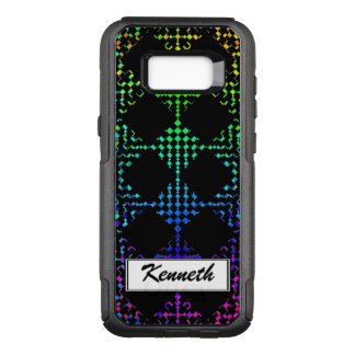 Checkered Moire by Kenneth Yoncich OtterBox Commuter Samsung Galaxy S8+ Case