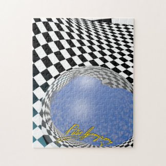 Checkered Past 5 Jigsaw Puzzle
