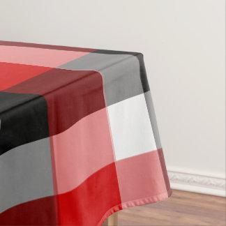 Checkered Plaid Tablecloth