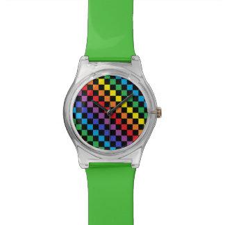 Checkered Rainbow Black Watch