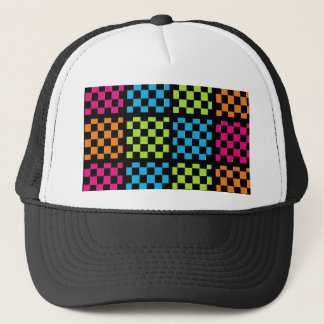 Checkered Sequence Hat