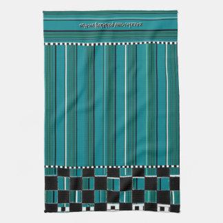 Checkered Stripe 2 Hand Towel