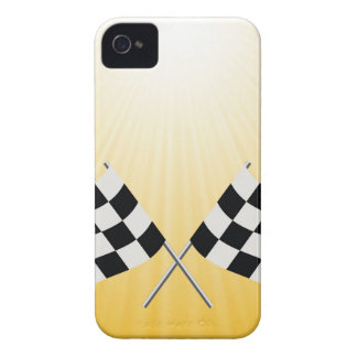 checkered symbol iPhone 4 Case-Mate case