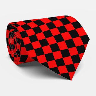 checkered. tie