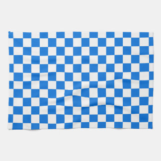 Checkered Tile Pattern Kitchen Towel