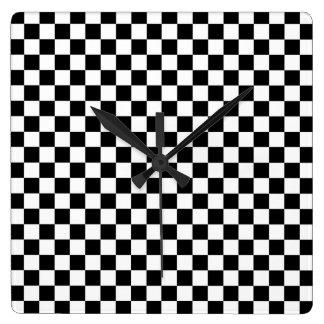 Checkered Time Clocks