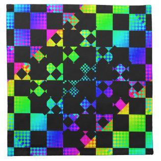 Checkered Twist by Kenneth Yoncich Napkins