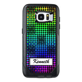 Checkered Twist by Kenneth Yoncich OtterBox Samsung Galaxy S7 Edge Case