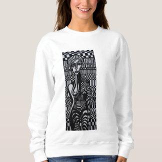 CheckerGirl Crewneck Sweatshirt