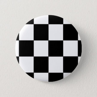 Checkers 2 Inch Round Button