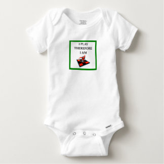 CHECKERS BABY ONESIE