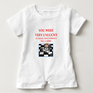 checkers baby romper