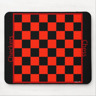 Checkers Chess mp Mouse Pad