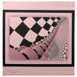 Checkers The Mechanical Mouse Tail Printed Napkins
