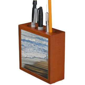Checking The Shoreline Desk Organizer
