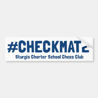 #Checkmate Bumper Sticker