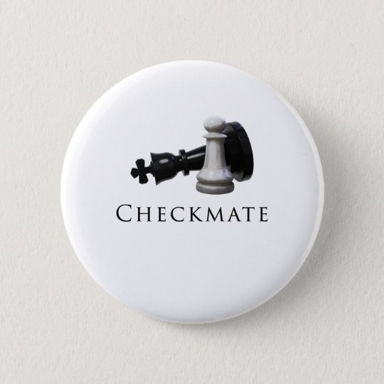 Checkmate Chess 2 Inch Round Button