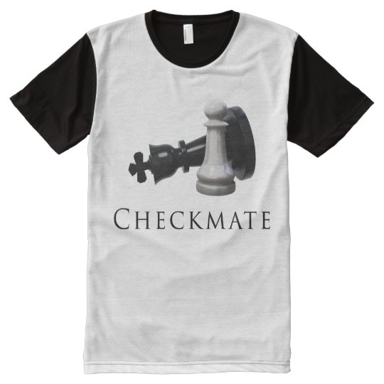 Checkmate Chess All-Over-Print T-Shirt
