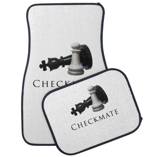 Checkmate Chess Car Mat