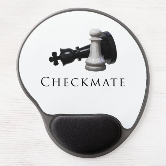 Checkmate Chess Gel Mouse Pad