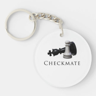 Checkmate Chess Keychain