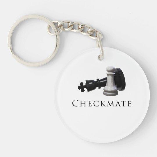 Checkmate Chess Keychain