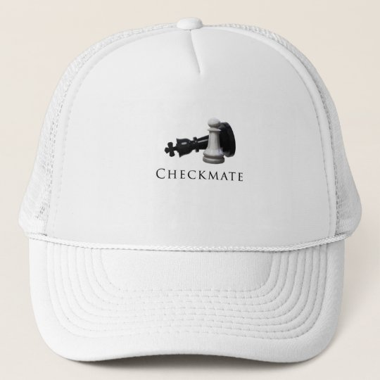 Checkmate Chess Trucker Hat