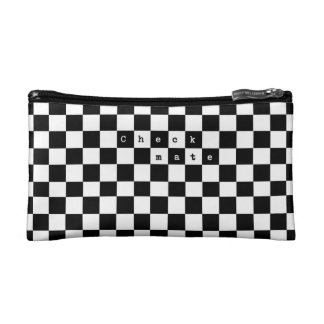 Checkmate Cosmetic Bag