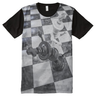 Checkmate Knockout All-Over Print T-shirt