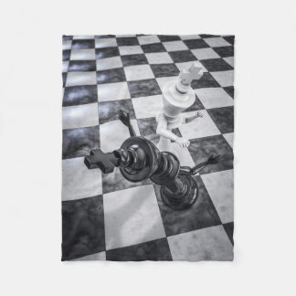 Checkmate Knockout Small Fleece Blanket