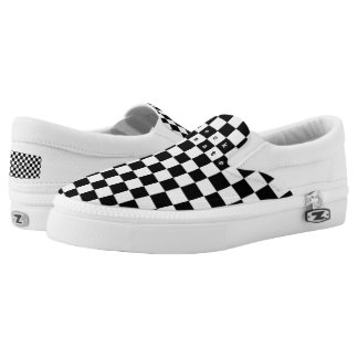 Checkmate Slip-On Sneakers