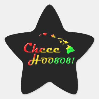 CHEE HOO 808 STAR STICKER