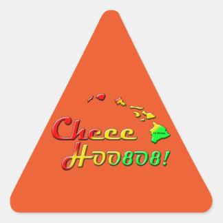 CHEE HOO 808 TRIANGLE STICKER